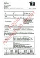 CH-Gutachten Spurverbreiterung Seat Ibiza (6L) Cordoba (6L) Audi A4 (B5) PC-16-M175-01