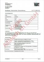 CH-Gutachten Spurverbreiterung Ford Mustang PC-19-M013-00