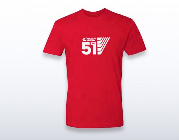 "EIBACH T-SHIRT ROT ""51 LINE"" Grösse XL - W9905-2-35"