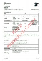 CH-Gutachten Spurverbreiterung Audi A5 - S5 - RS5 - A6 - S6 - A7 - S7 -Q8 - SQ8 PC-20-M071-00