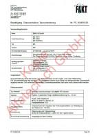 CH-Gutachten Spurverbreiterung BMW M2 - M3 - M4 PC-18-M016-00