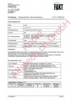 CH-Gutachten Spurverbreiterung Volvo C70 - S60 - S70 - S80 - V70 - XC70 PC-15-M057-02